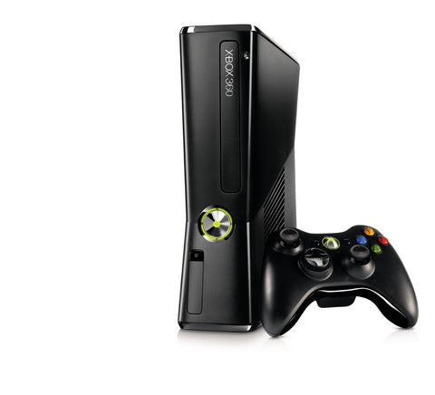Xbox 360 250GB with Kinect, power supply, 1 wireless controller