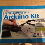 Make: Getting Started with Arduino Kit & SeeedStudio ARDX starter kit (07A12) robot