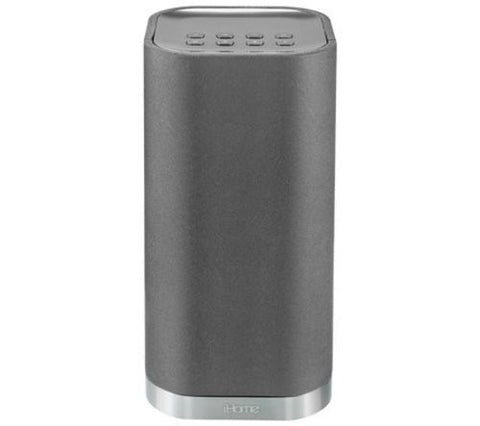 iHome iW3 AirPlay Rechargeable Wireless Audio System (Silver)