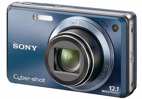 Sony Cyber-shot DSC-W290 12 MP Digital Camera with 5x Optical Zoom and Super Steady Shot Image Stabilization (Dark Blue) (OLD MODEL)