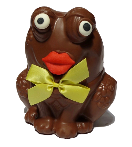 Homemade Chocolate Frog