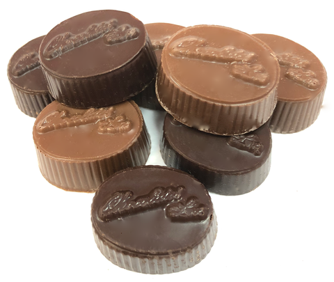 Solid Chocolate Ovals
