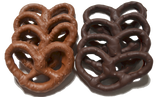 Homemade Milk or Dark Chocolate Covered Pretzels - Boxed