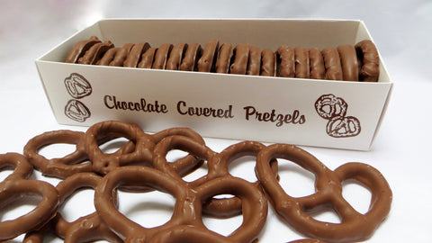 Homemade Chocolate Covered Pretzels - Boxed
