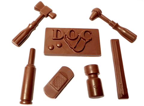 Homemade Chocolate Doctors Kit