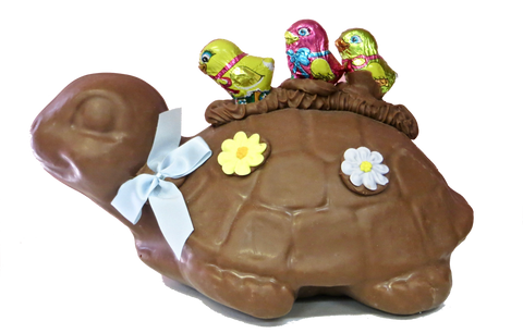Homemade Chocolate Easter Turtle