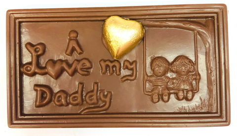 Father's Day - I Love my Daddy Chocolate Bar