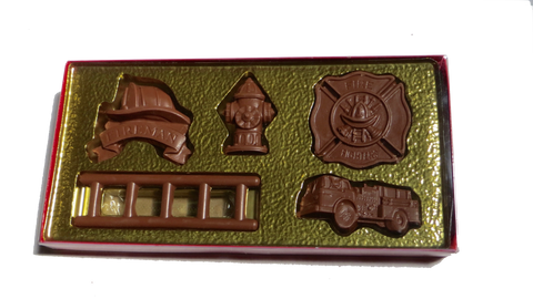 Homemade Chocolate Fireman Set - Boxed