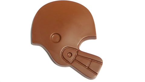 Chocolate Football Helmet