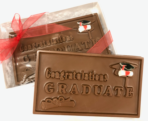 "Graduation - Milk Chocolate ""Congratulations Graduate"""