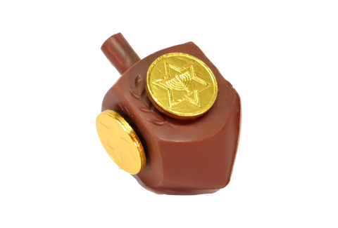 Homemade Chocolate Dreidel - Chocolates With Love