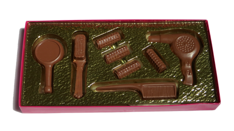 Homemade Chocolate Hair Style Kit - Boxed