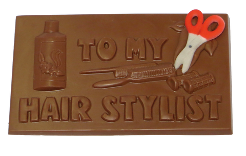 Homemade Milk Chocolate Hair Stylist