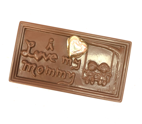 "Chocolate ""I Love my Mommy"" Card"