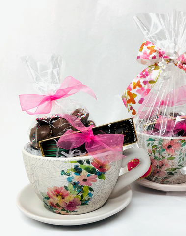 Mother's Day - Planter filled with Nonpareils and Truffles