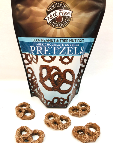 Nut Free -  Chocolate Covered Pretzels