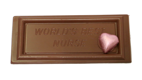 Homemade Chocolate - World's Best Nurse