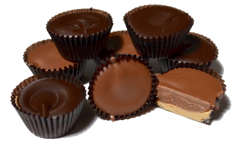Homemade Milk or Dark Chocolate Peanut Butter Cups