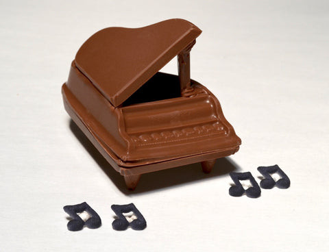 Chocolate Grand Piano