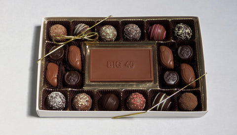 Big 40 Birthday - Chocolate Gift Box