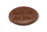 Especially For You - Solid Chocolate Ovals