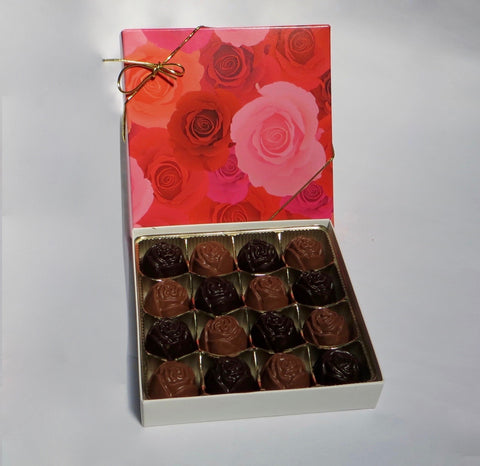 Rose - Solid Milk & Dark Chocolate