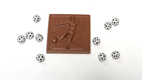 Chocolate Soccer Plaque