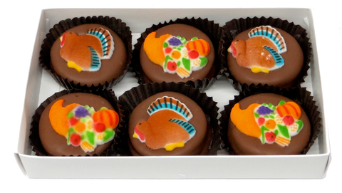 Thanksgiving - Chocolate Covered Oreos