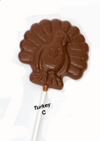 Copy of Thanksgiving Chocolate Pops (1.5oz)