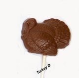 Thanksgiving Chocolate Pops