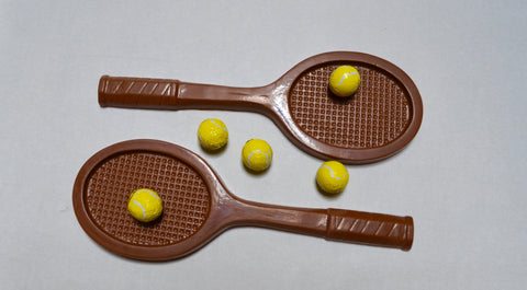 Chocolate Tennis Raquet
