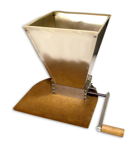 5048 Roller Grain Malt Mill with Hopper -  - BEER EQUIPMENT - Rhone Brew Company