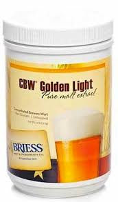 BRIESS GOLDEN LIGHT LIQUID MALT CANISTER -  - BM - Rhone Brew Company
