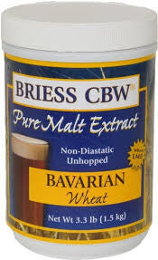 BRIESS BAVARIAN WHEAT LIQUID MALT CANISTER -  - BM - Rhone Brew Company