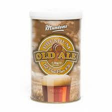 MUNTONS PREMIUM OLD ALE LIQUID MALT EXTRACT -  - MM - Rhone Brew Company