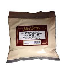 MUNTONS PLAIN WHEAT DRIED MALT EXTRACT - 1810A - 1 LB. - MM - Rhone Brew Company