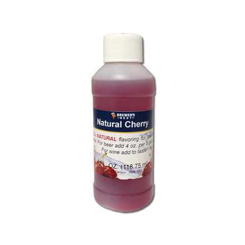 CHERRY NATURAL FRUIT FLAVORING - 3708 - 4 OZ. - FF - Rhone Brew Company