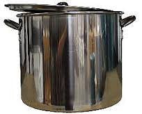 42 QT STAINLESS STEEL BREWING POT -  - BEER EQUIPMENT - Rhone Brew Company