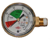 "5653 REGULATOR GAUGE 2000 LB - 1/4"" NPT -  - General - Rhone Brew Company"
