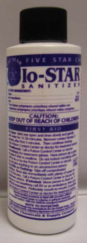 6018 FIVE STAR IO-STAR SANITIZER - 6018 - 4 oz - CHEMICAL - Rhone Brew Company - 1