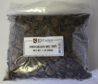 FRENCH OAK CHIPS - 1 LB. - OAK - Rhone Brew Company - 1