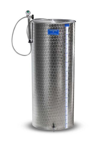 "200 LITER ""MARBLE"" FINISH STAINLESS STEEL TANK - 8045 200 LITER VARIABLE CAPACITY TANK - WINE EQUIPMENT - Rhone Brew Company - 1"