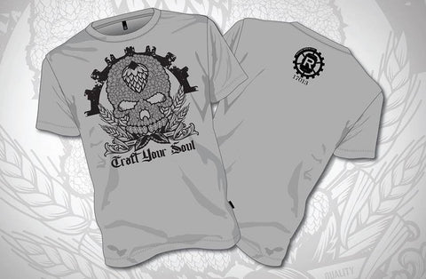 CRAFT YOUR SOUL TEE SHIRT -  - Apparel - Rhone Brew Company