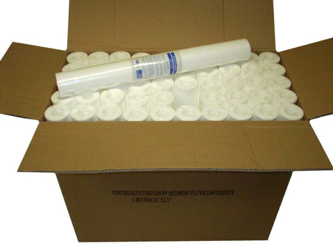 "1 Micron 20"" Cartridge Filter - CASE OF 15"