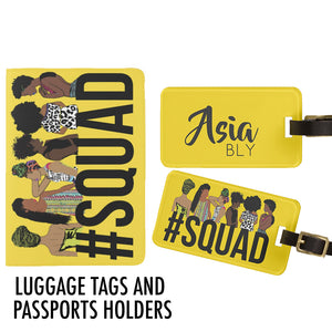 PASSPORTS AND LUGGAGE TAGS!