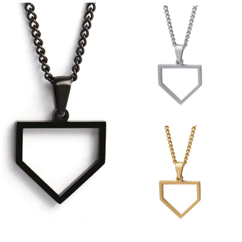 Home Plate Necklace