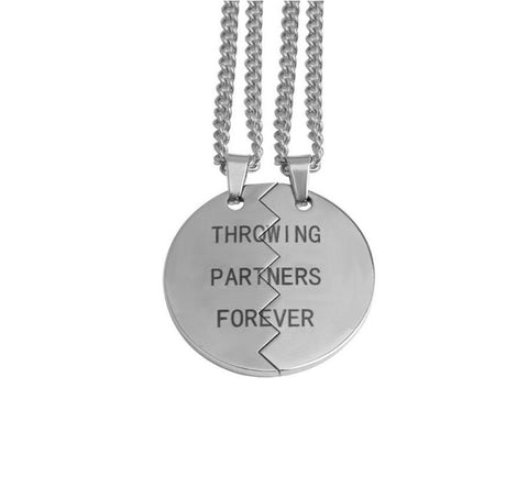 Throwing Partner Necklaces