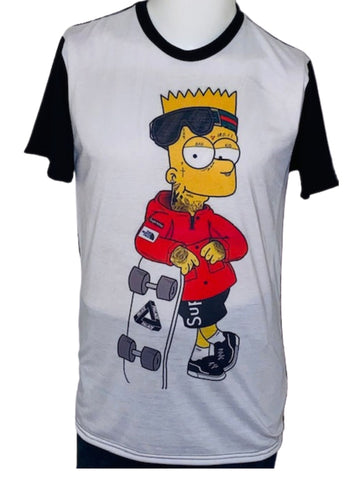 Humor Tees ~ Cartoon Inspired - Skater Supreme Bart