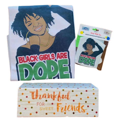 Thinking Of You ~ Black Women Are Dope Gift Box