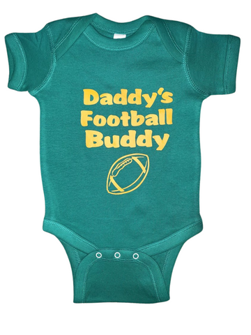 Baby Gear ~ Daddy's Football Buddy Baby Tee